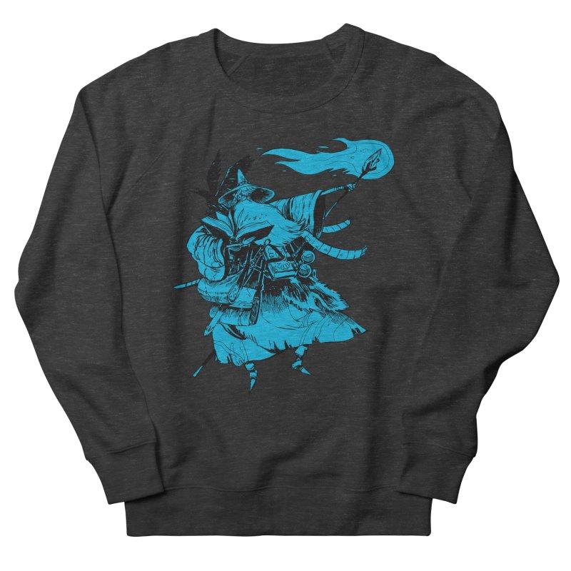 Wizard Men's French Terry Sweatshirt by Kyle Ferrin's Artist Shop
