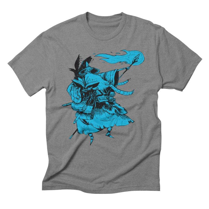 Wizard Men's Triblend T-shirt by Kyle Ferrin's Artist Shop
