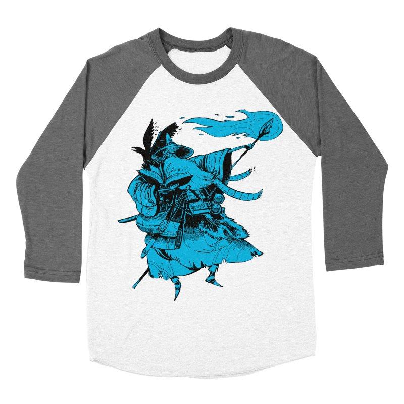 Wizard Women's Baseball Triblend T-Shirt by Kyle Ferrin's Artist Shop