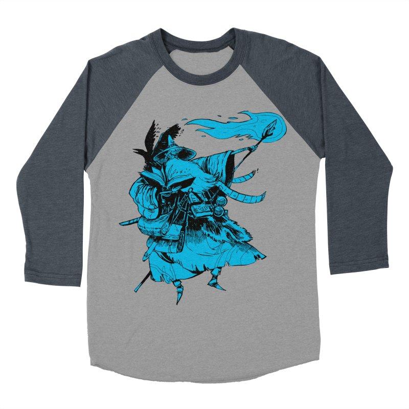 Wizard Men's Baseball Triblend Longsleeve T-Shirt by Kyle Ferrin's Artist Shop