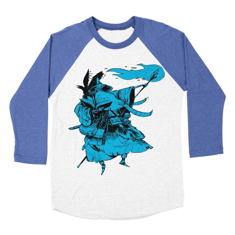 Wizard Men's Baseball Triblend T-Shirt by Kyle Ferrin's Artist Shop
