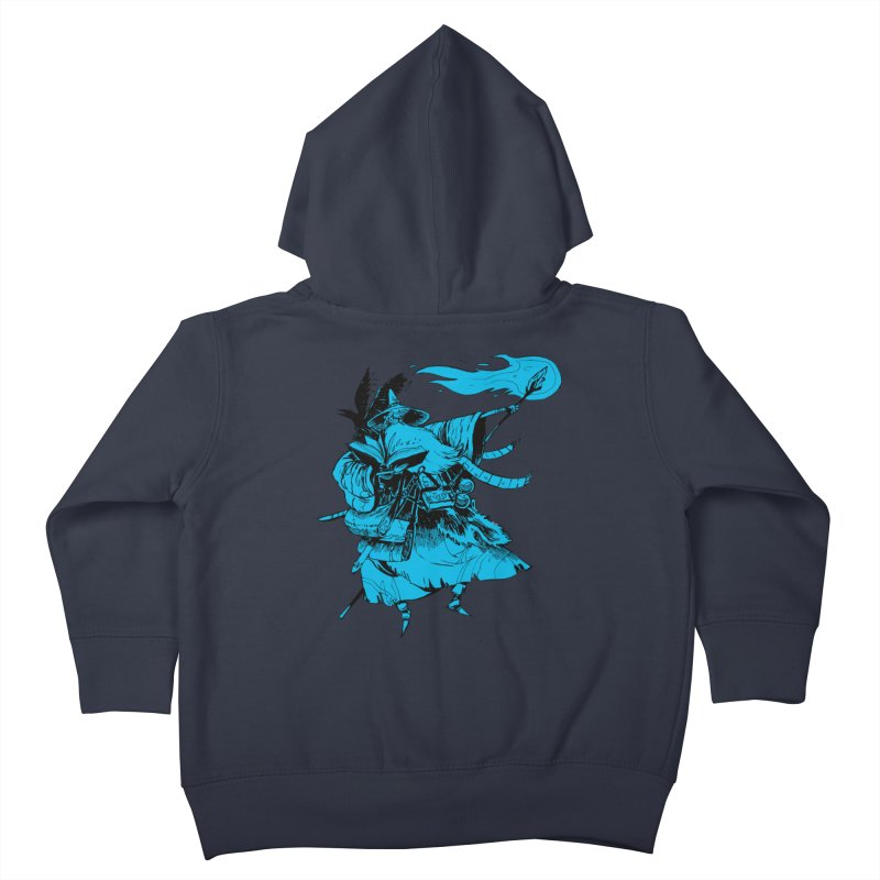 Wizard Kids Toddler Zip-Up Hoody by Kyle Ferrin's Artist Shop