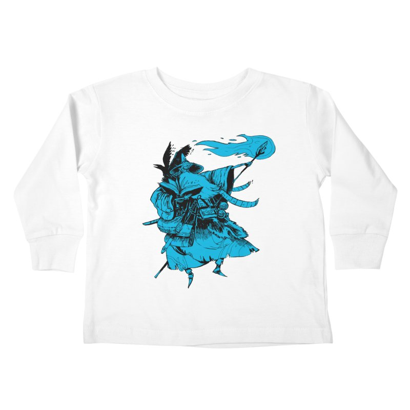 Wizard Kids Toddler Longsleeve T-Shirt by Kyle Ferrin's Artist Shop