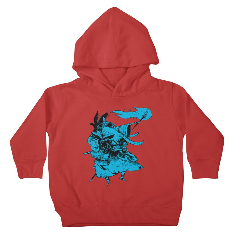 Wizard Kids Toddler Pullover Hoody by Kyle Ferrin's Artist Shop