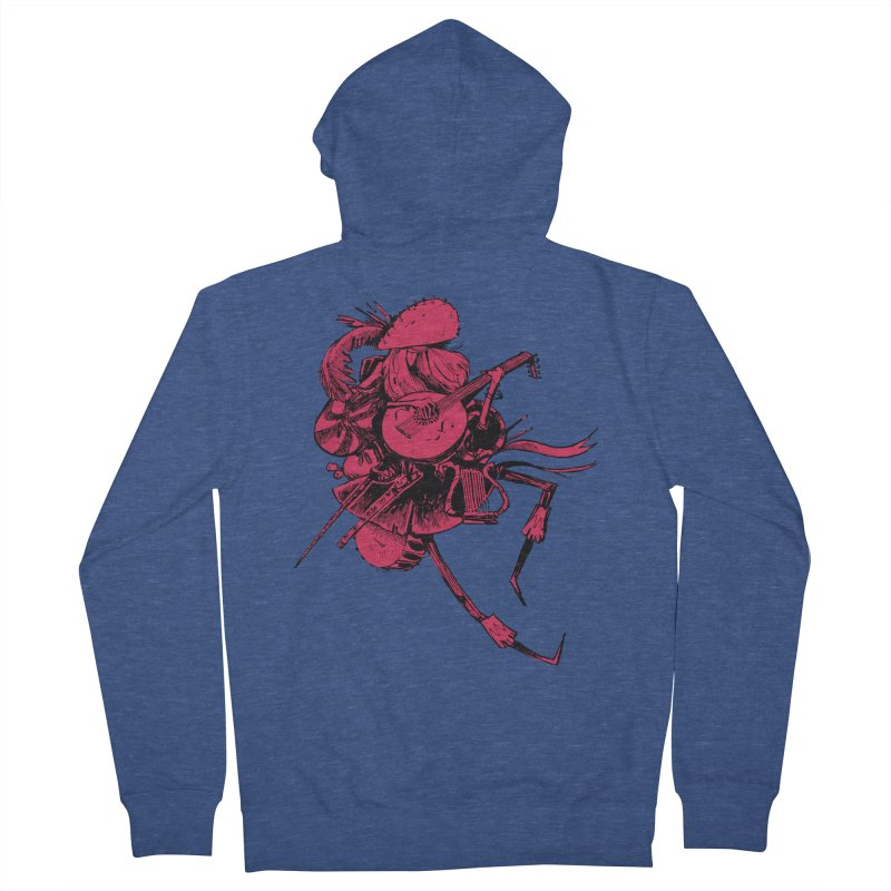 Bard Women's French Terry Zip-Up Hoody by Kyle Ferrin's Artist Shop