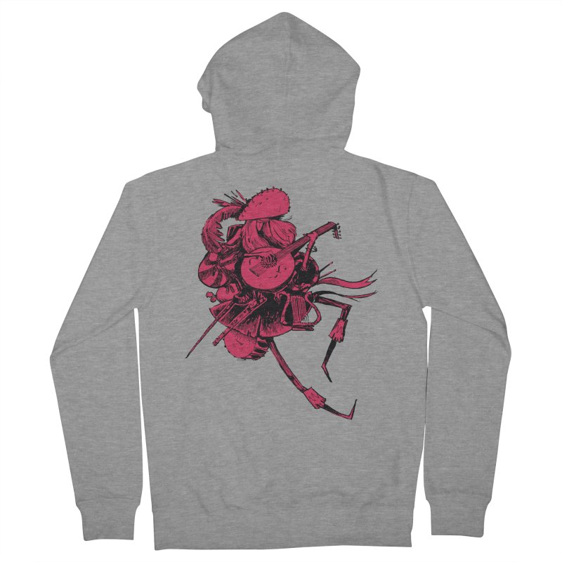 Bard Women's Zip-Up Hoody by Kyle Ferrin's Artist Shop
