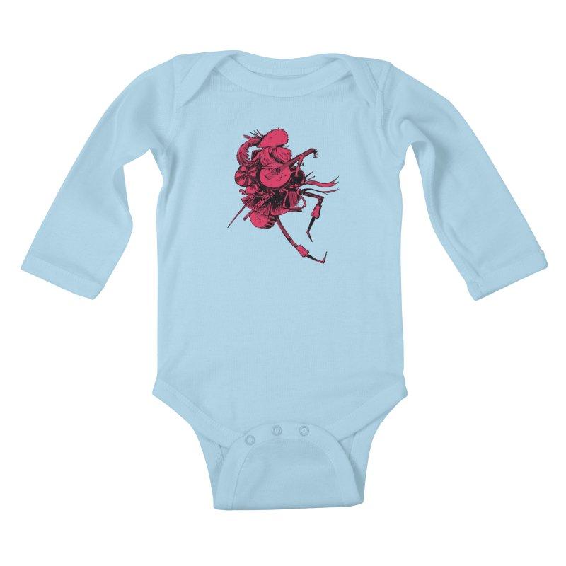 Bard Kids Baby Longsleeve Bodysuit by Kyle Ferrin's Artist Shop