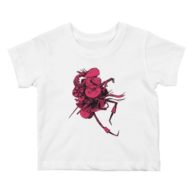 Bard Kids Baby T-Shirt by Kyle Ferrin's Artist Shop