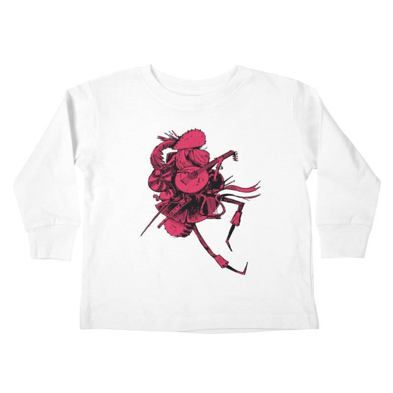 Bard Kids Toddler Longsleeve T-Shirt by Kyle Ferrin's Artist Shop