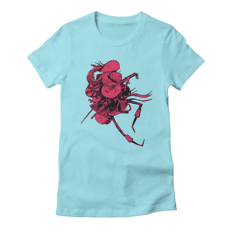 Bard Women's Fitted T-Shirt by Kyle Ferrin's Artist Shop
