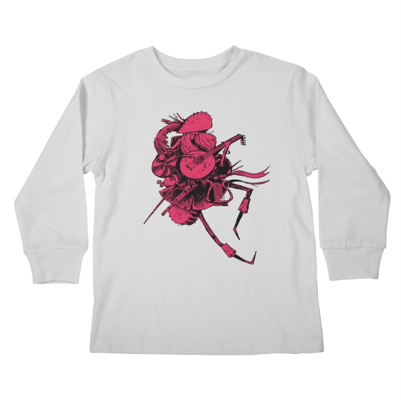 Bard Kids Longsleeve T-Shirt by Kyle Ferrin's Artist Shop