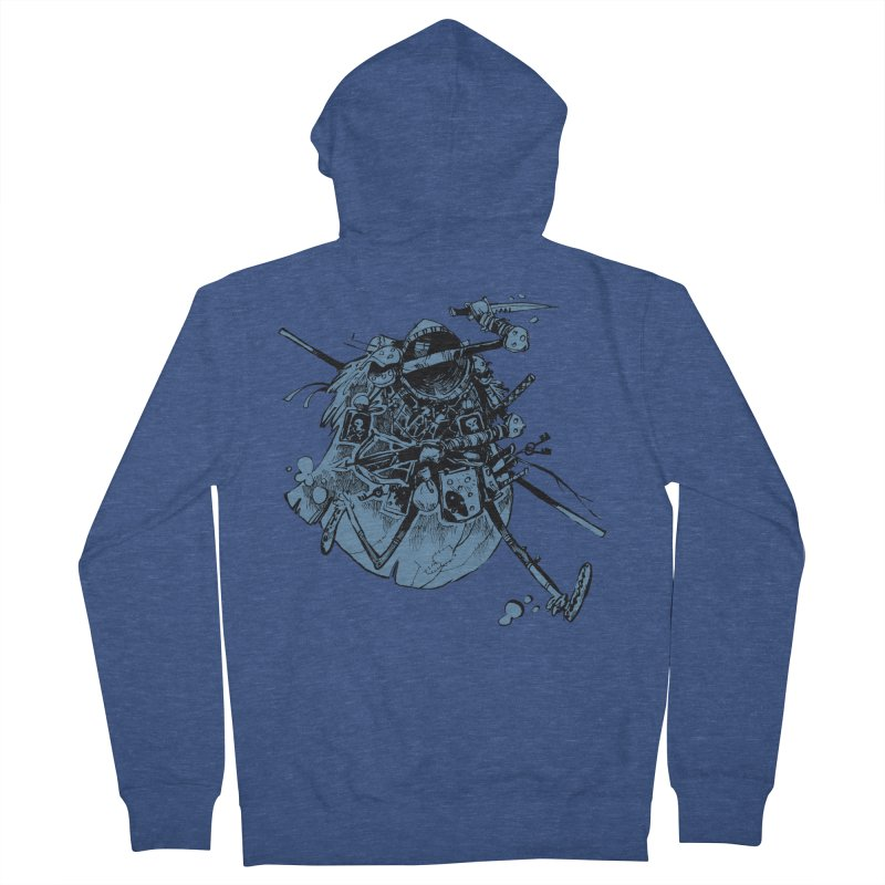 Rogue Women's French Terry Zip-Up Hoody by Kyle Ferrin's Artist Shop