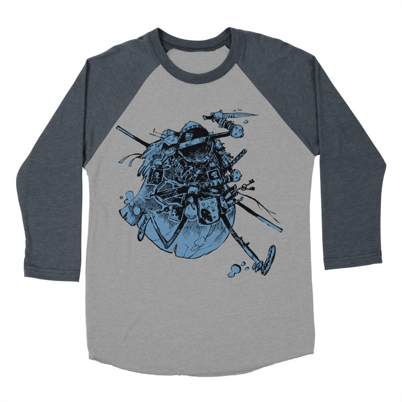 Rogue Men's Baseball Triblend Longsleeve T-Shirt by Kyle Ferrin's Artist Shop