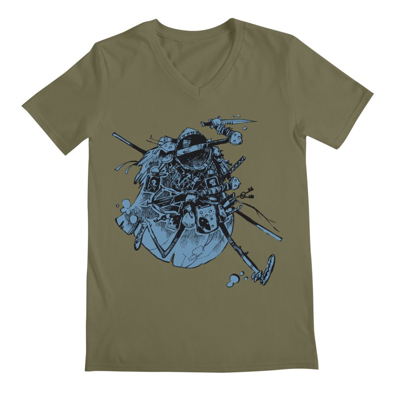 Rogue Men's Regular V-Neck by Kyle Ferrin's Artist Shop