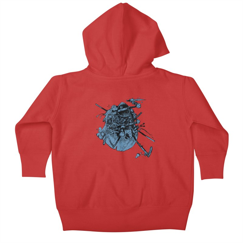 Rogue Kids Baby Zip-Up Hoody by Kyle Ferrin's Artist Shop