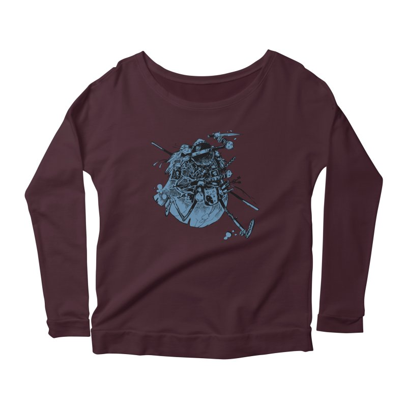 Rogue Women's Scoop Neck Longsleeve T-Shirt by Kyle Ferrin's Artist Shop