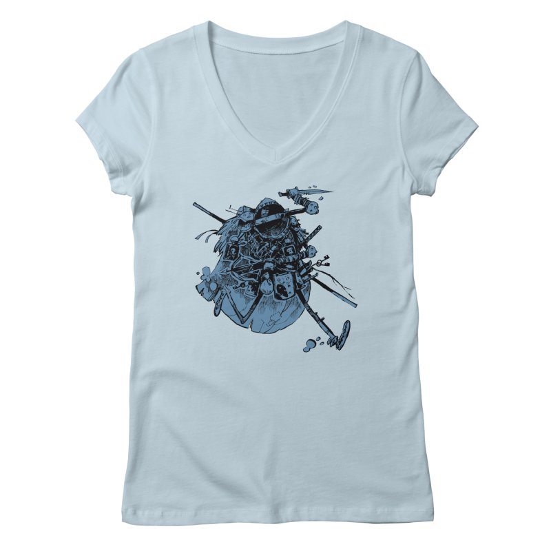 Rogue Women's V-Neck by Kyle Ferrin's Artist Shop