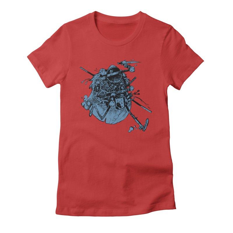 Rogue Women's Fitted T-Shirt by Kyle Ferrin's Artist Shop