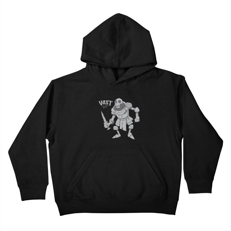 Stabby Skeleton Kids Pullover Hoody by Kyle Ferrin's Artist Shop