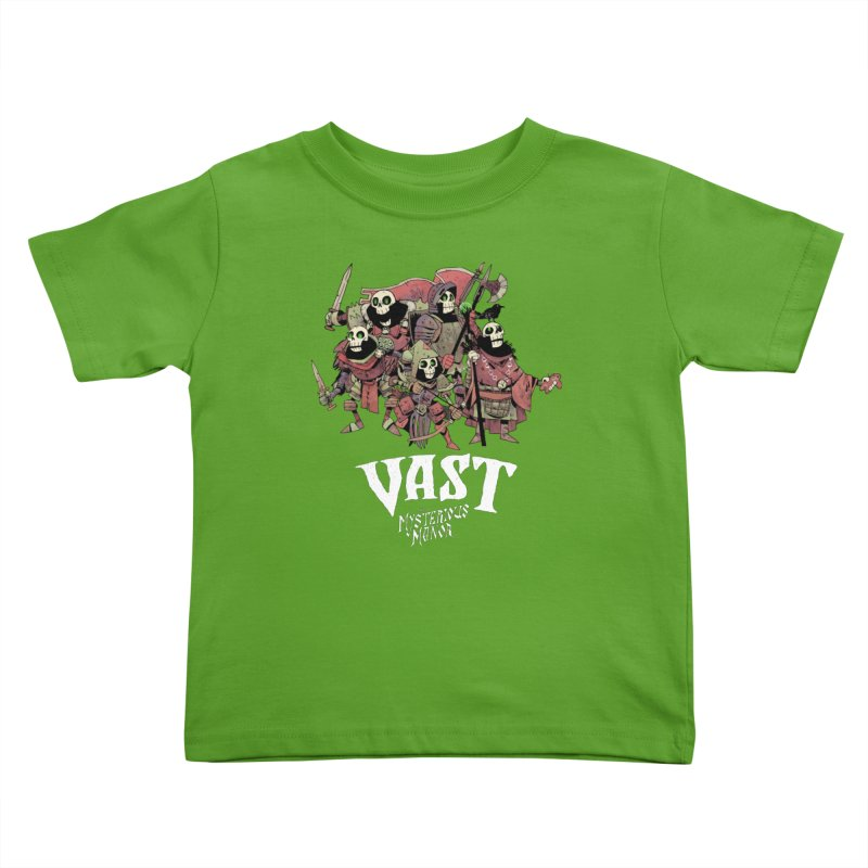 Vast: The Mysterious Manor Skeletons Kids Toddler T-Shirt by Kyle Ferrin's Artist Shop