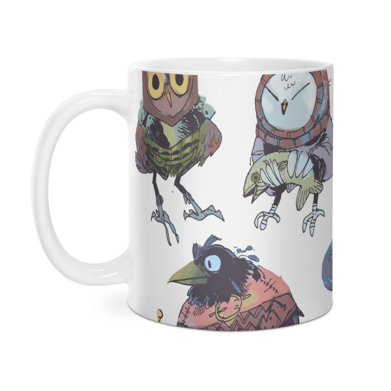 Bird People Accessories Mug by Kyle Ferrin's Artist Shop