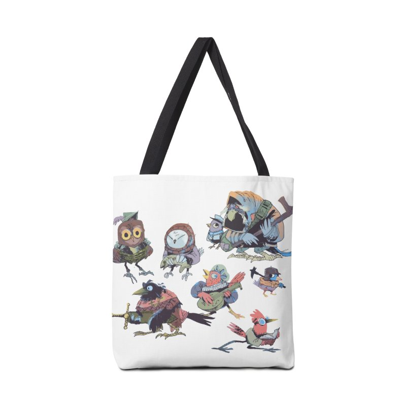 Bird People in Tote Bag by Kyle Ferrin's Artist Shop