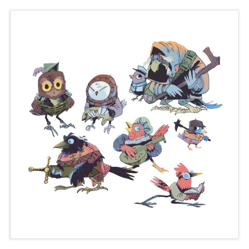 Bird People Home Fine Art Print by Kyle Ferrin's Artist Shop