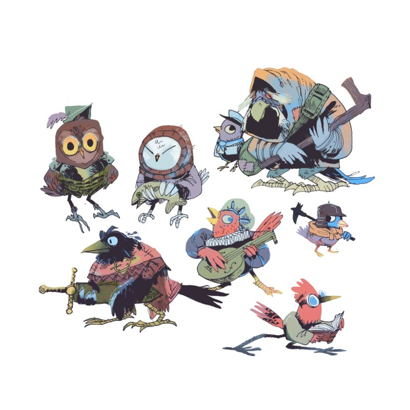 Bird People by Kyle Ferrin's Artist Shop
