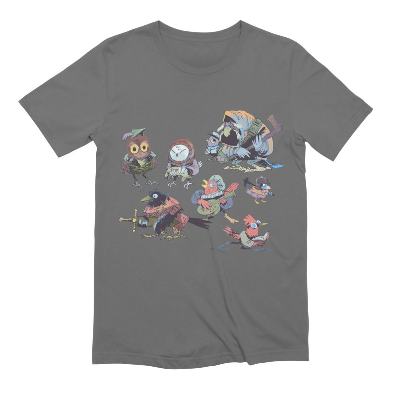 Bird People Men's T-Shirt by Kyle Ferrin's Artist Shop