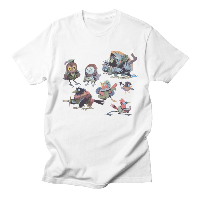 Bird People Men's Regular T-Shirt by Kyle Ferrin's Artist Shop