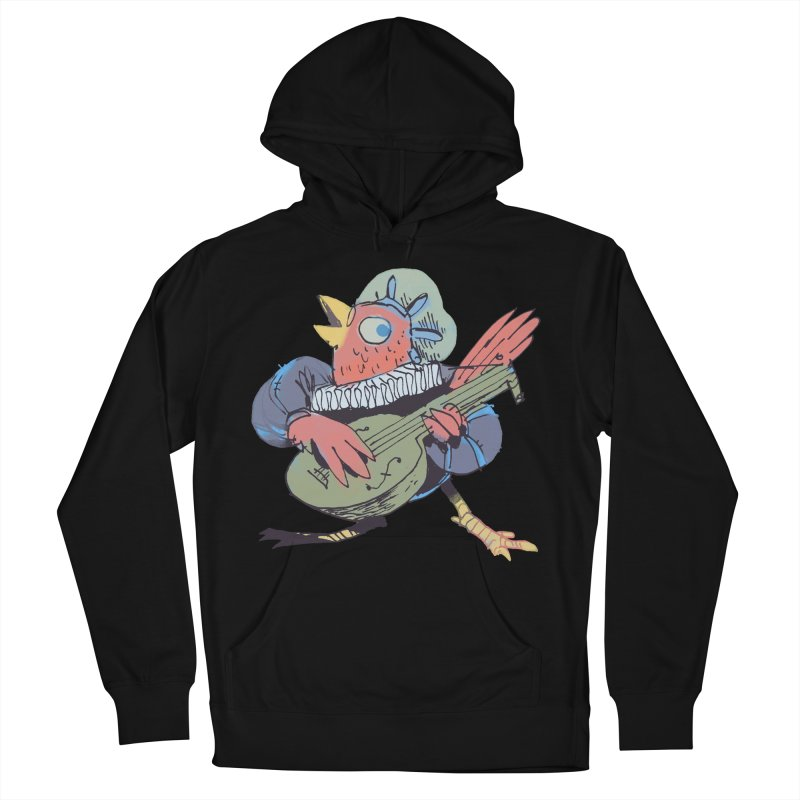 Bird Bard Women's French Terry Pullover Hoody by Kyle Ferrin's Artist Shop
