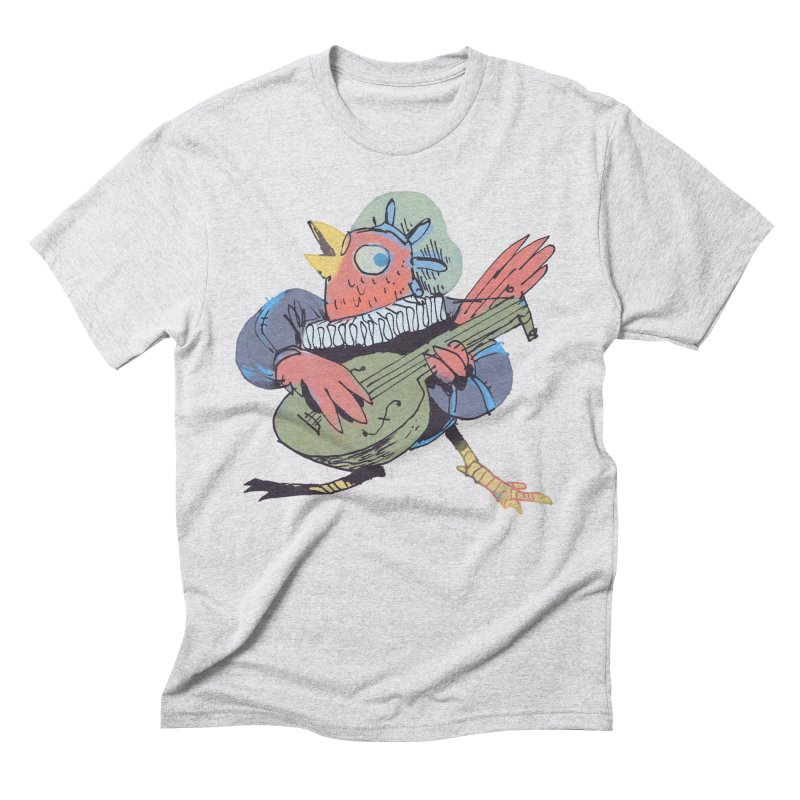 Bird Bard Men's Triblend T-Shirt by Kyle Ferrin's Artist Shop