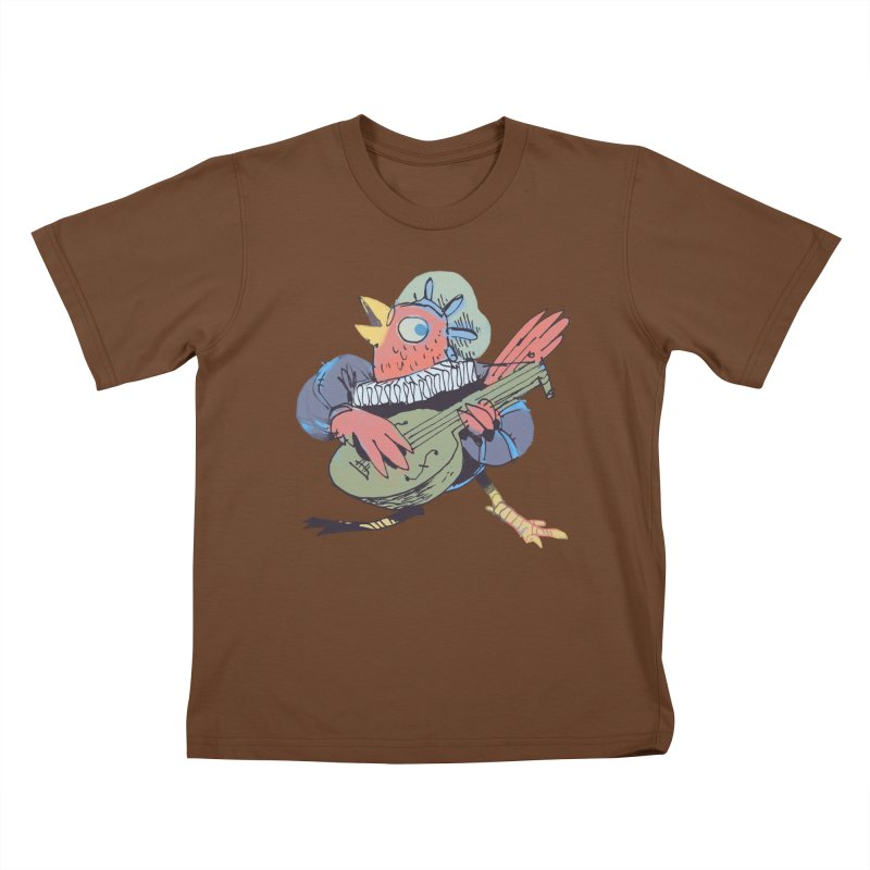 Bird Bard Kids T-shirt by Kyle Ferrin's Artist Shop