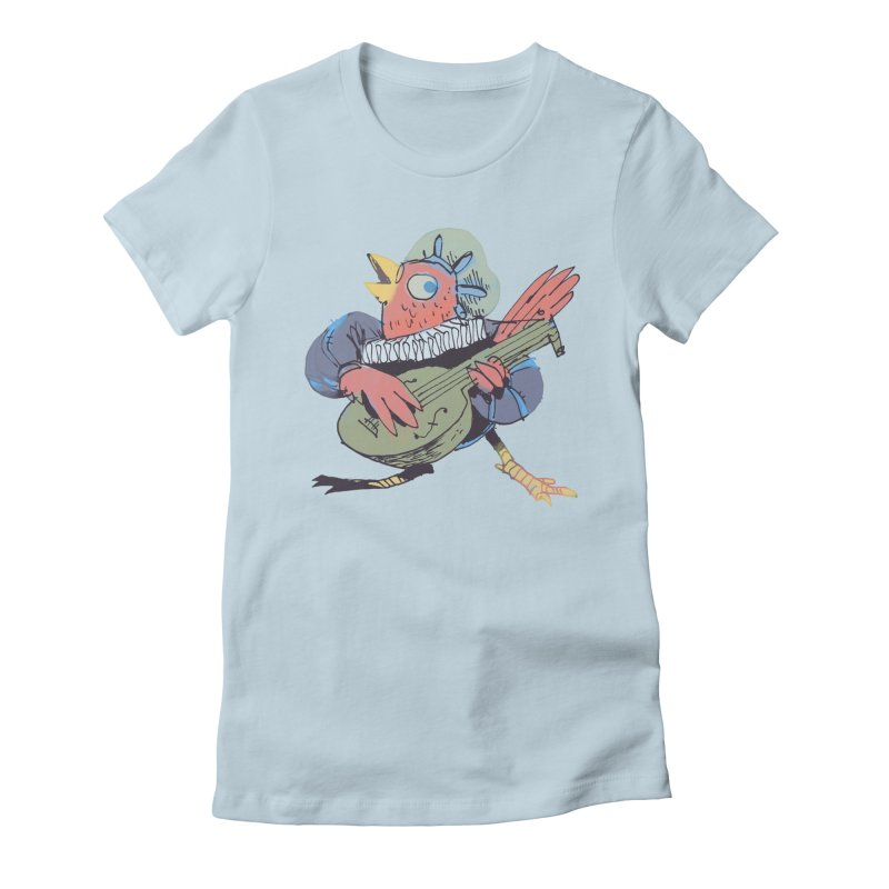 Bird Bard Women's T-Shirt by Kyle Ferrin's Artist Shop