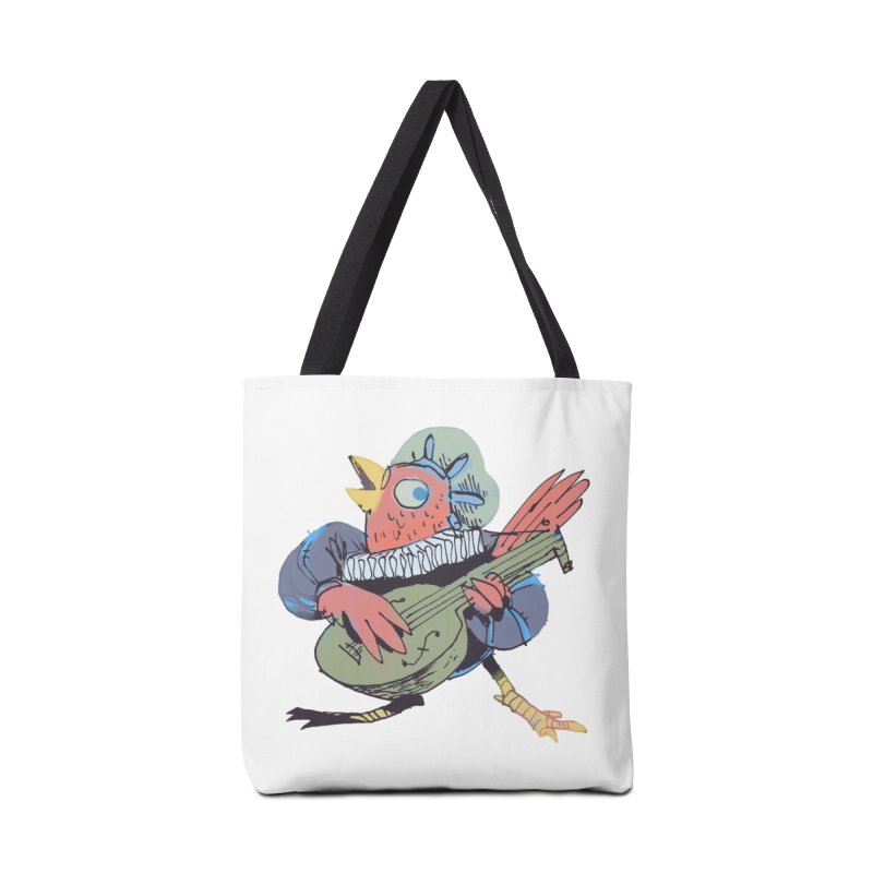 Bird Bard Accessories Tote Bag Bag by Kyle Ferrin's Artist Shop