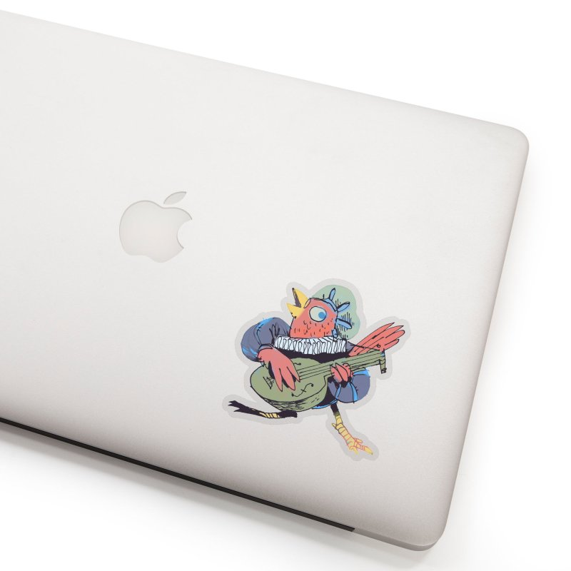 Bird Bard Accessories Sticker by Kyle Ferrin's Artist Shop