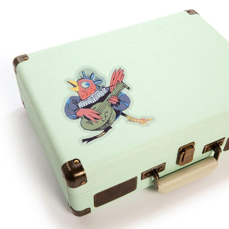 Bird Bard Accessories Sticker by Kyle Ferrin's Artist Shop