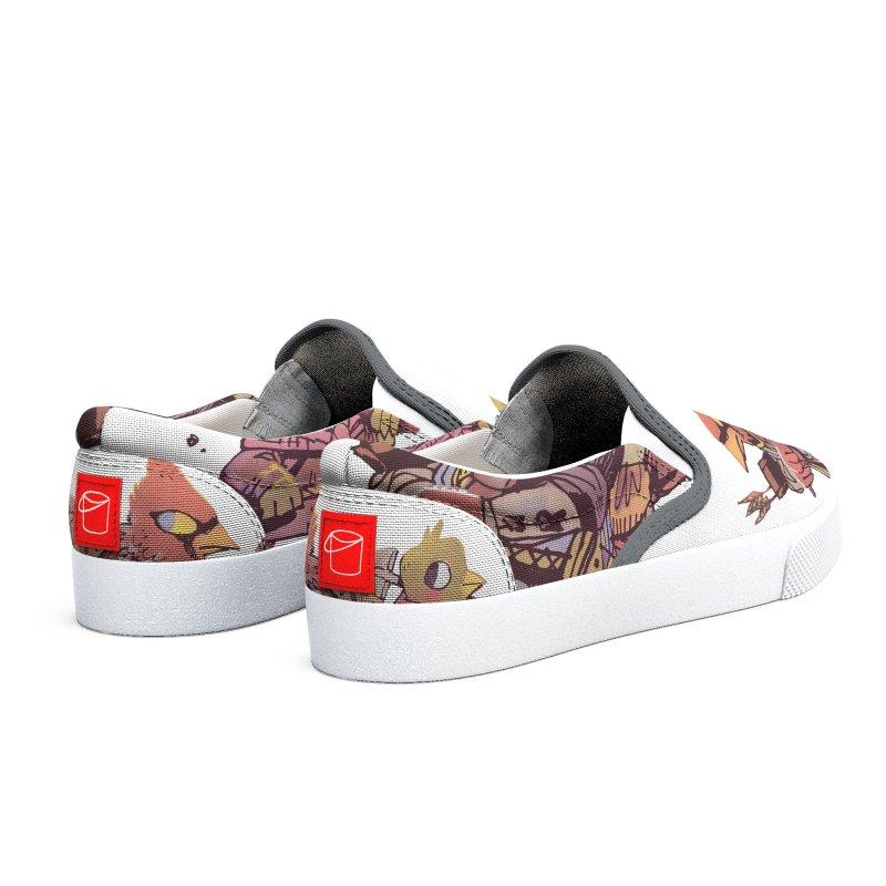 Bird Mercenaries Men's Shoes by Kyle Ferrin's Artist Shop