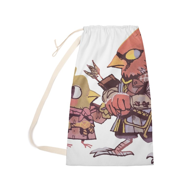 Bird Mercenaries Accessories Bag by Kyle Ferrin's Artist Shop