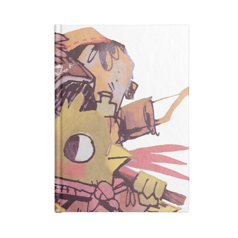 Bird Mercenaries Accessories Notebook by Kyle Ferrin's Artist Shop
