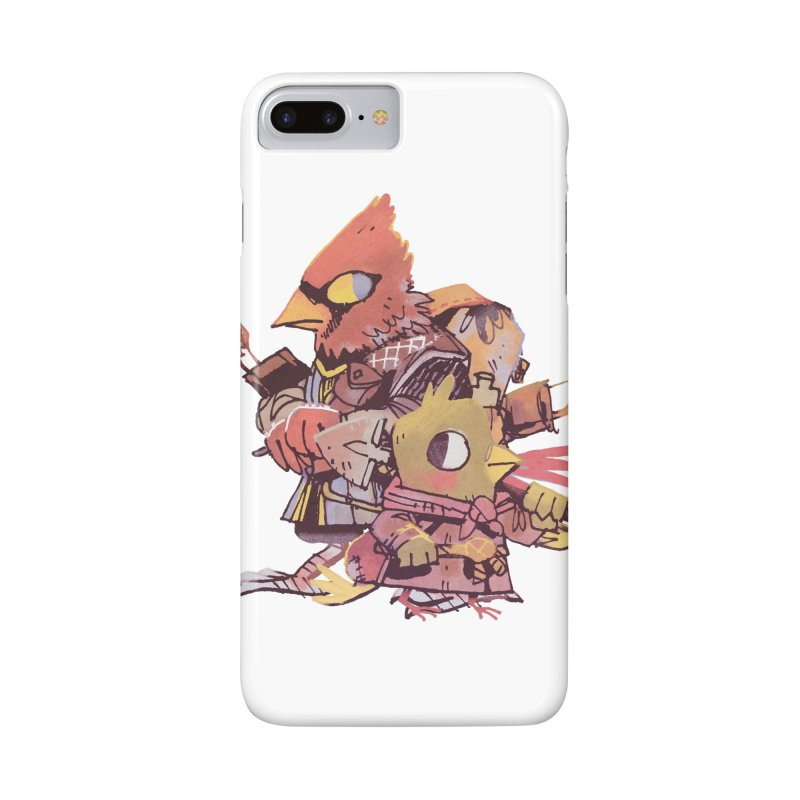 Bird Mercenaries in iPhone 7 Plus Phone Case Slim by Kyle Ferrin's Artist Shop
