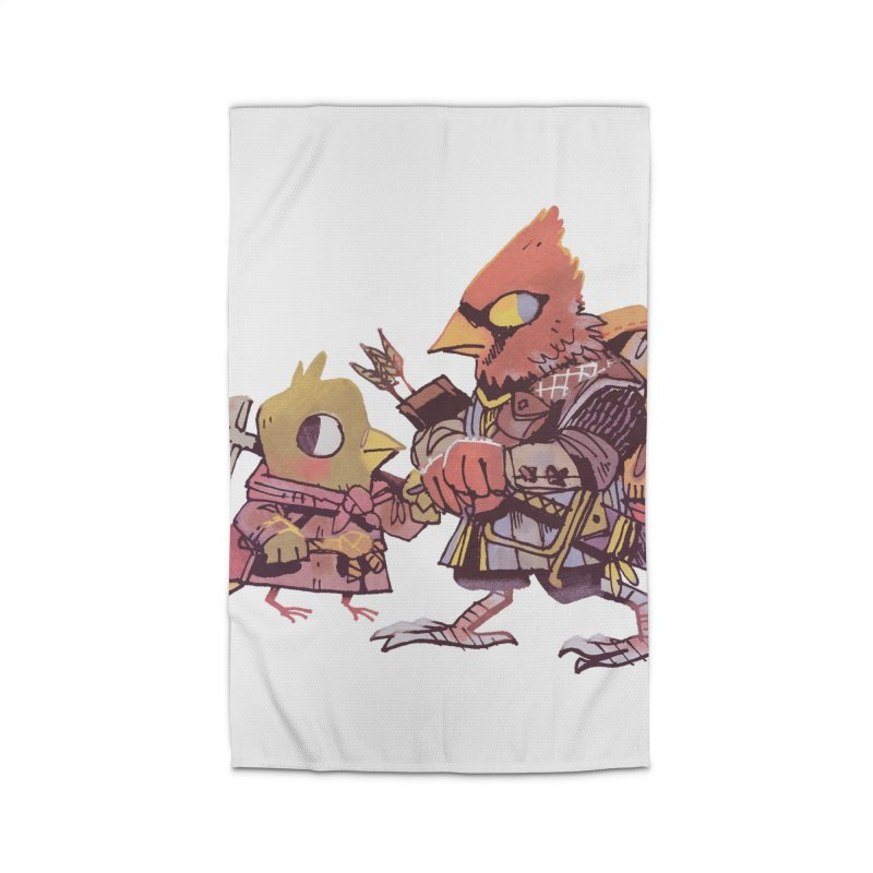 Bird Mercenaries Home Rug by Kyle Ferrin's Artist Shop