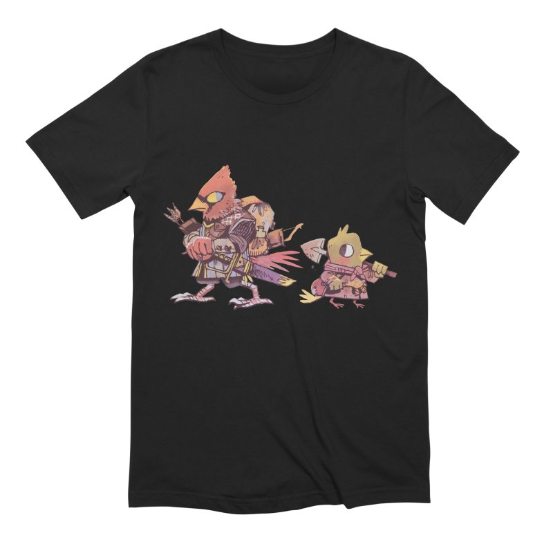 Bird Mercenaries Men's Extra Soft T-Shirt by Kyle Ferrin's Artist Shop