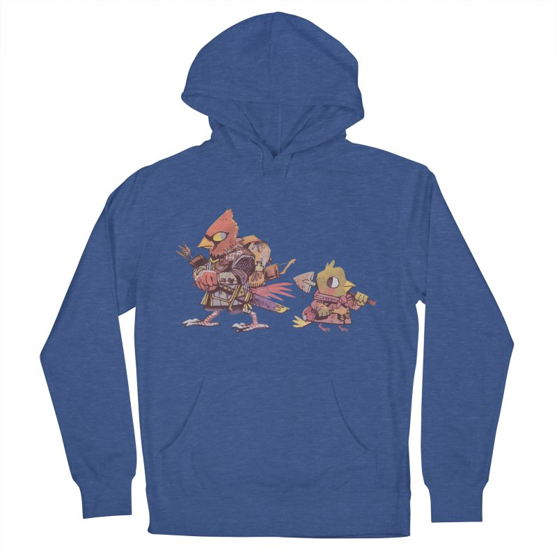 Bird Mercenaries Women's French Terry Pullover Hoody by Kyle Ferrin's Artist Shop