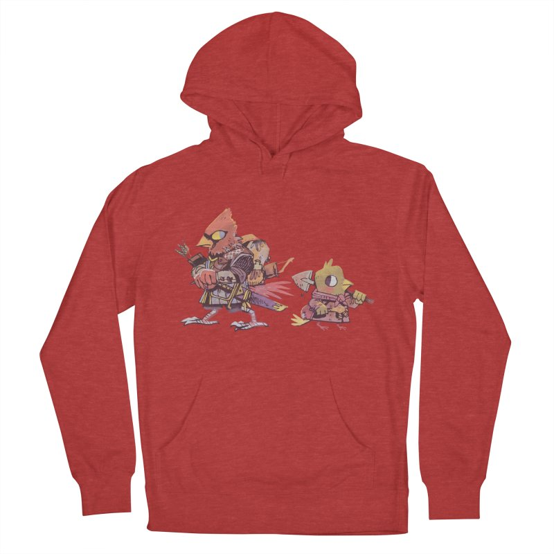 Bird Mercenaries Men's French Terry Pullover Hoody by Kyle Ferrin's Artist Shop