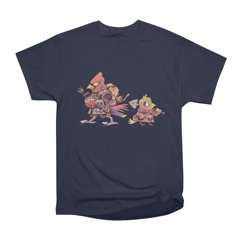 Bird Mercenaries Men's Heavyweight T-Shirt by Kyle Ferrin's Artist Shop