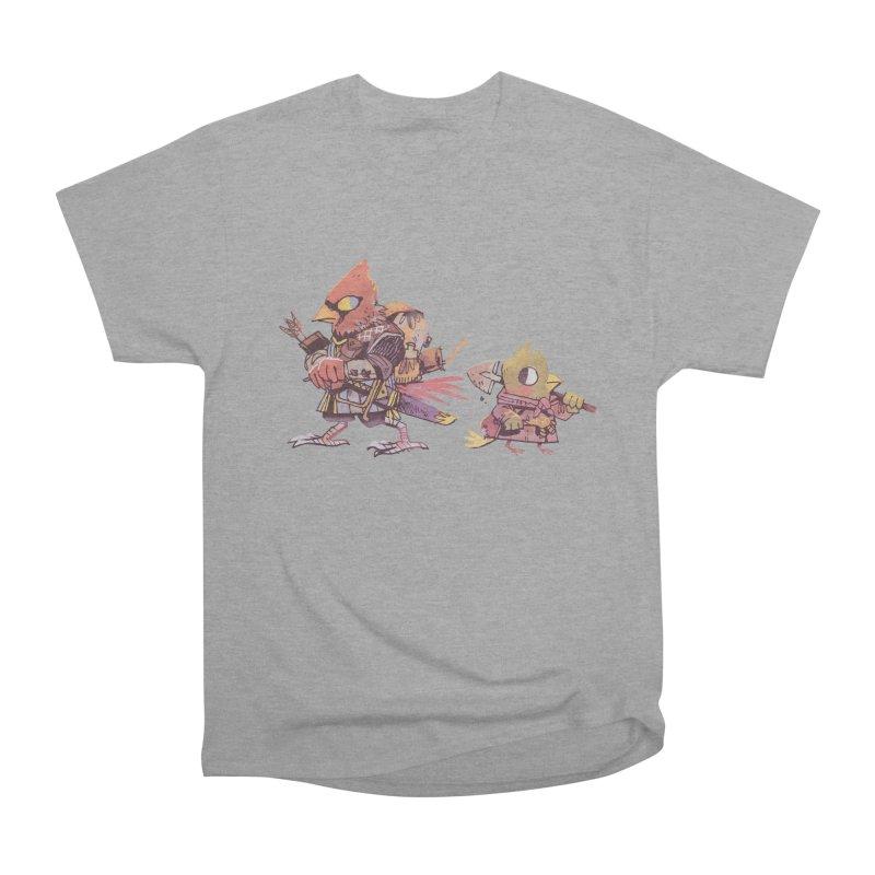 Bird Mercenaries Men's Heavyweight T-Shirt by Kyle Ferrin's Artist Shop