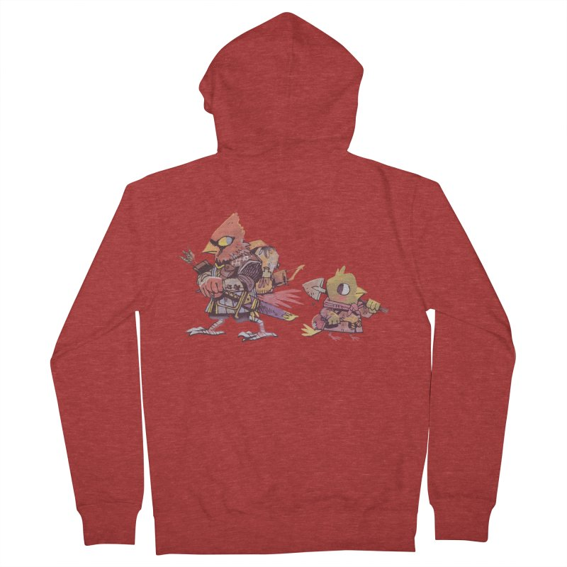 Bird Mercenaries Women's Zip-Up Hoody by Kyle Ferrin's Artist Shop