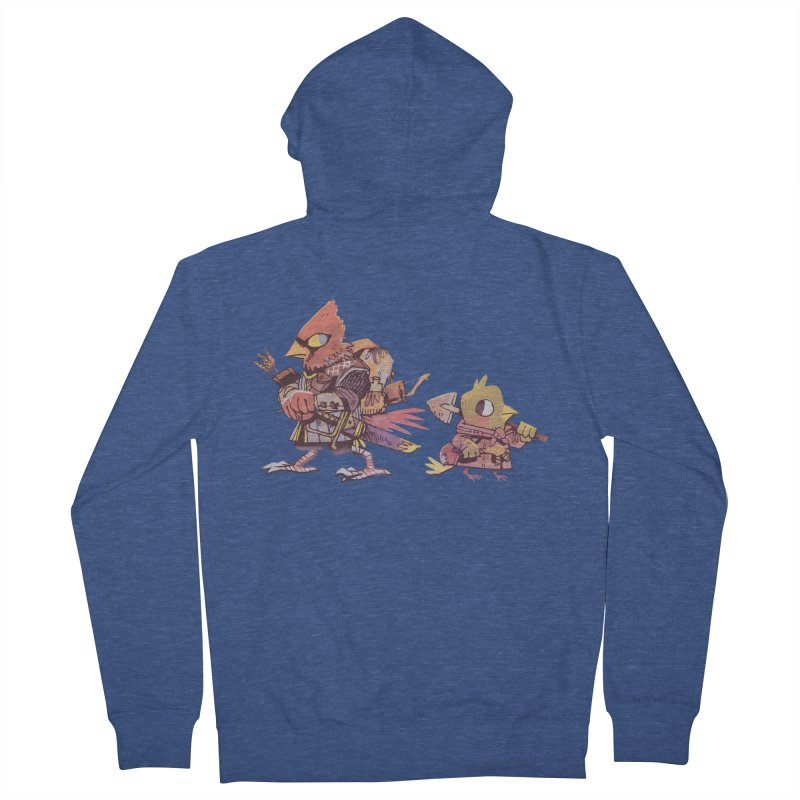 Bird Mercenaries Men's Zip-Up Hoody by Kyle Ferrin's Artist Shop