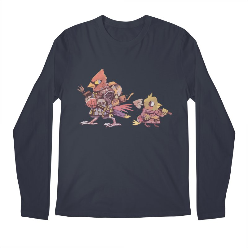 Bird Mercenaries Men's Regular Longsleeve T-Shirt by Kyle Ferrin's Artist Shop